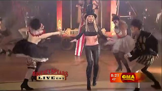 Britney Spears - Circus (live Good Morning America)