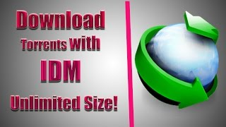 How to Download Torrents With IDM for FREE [UNLIMITED SIZE]
