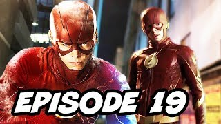 The Flash Season 3 Episode 19 - TOP 10 WTF and Comics Easter Eggs