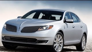 2013 Lincoln MKS Start Up And Review 3.7 L V6
