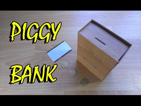 How to make Piggy Bank ATM machine for cash - toy