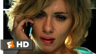 Lucy (2/10) Movie CLIP - I Feel Everything (2014) HD
