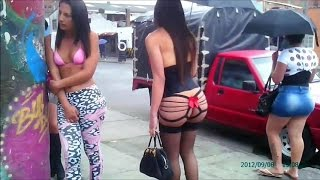 Street Prostitutes in Colombia