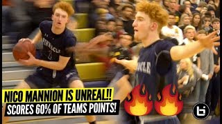 Nico Mannion Is UNREAL!! Scores Over HALF of Team
