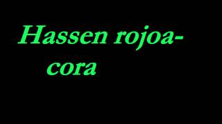 Hassen Rojoa- Cora