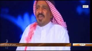 اخر قصيدة وظهور اعلامي للشاعر سعد بن جدلان رحمة الله تعالى
