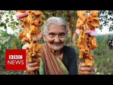 Indian great-grandmother YouTube star - BBC News