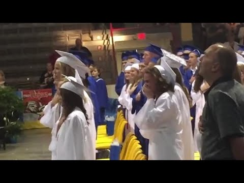 Xxx Mp4 Sister In Tears After Her Airman Brother Surprises Her At Graduation 3gp Sex