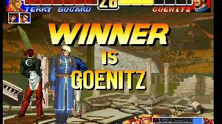 The King of Fighters 96 Goenitz