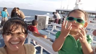 Viajando en el Ferry