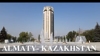 Almaty (View from Kazakhstan Hotel 26th floor) Part 9