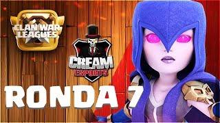 🔴 7ª Ronda de CREAM con ANIKILO! La Última Guerra! | Liga de Guerra de Clanes en Campeones 1