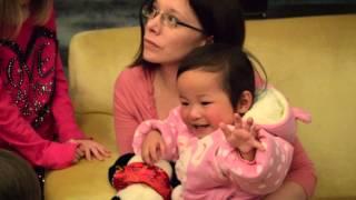 Meiya's Adoption Gotcha Day Video - China