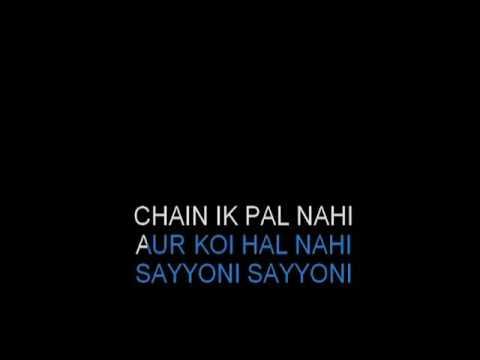 Xxx Mp4 Sayonee Chain Ek Pal Nahi Karaoke HQ Junoon Video Lyrics 3gp Sex