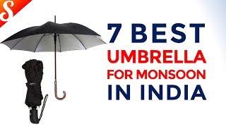 7 Best Umbrella for Monsoon in India with Price | Evergreen Umbrella Designs
