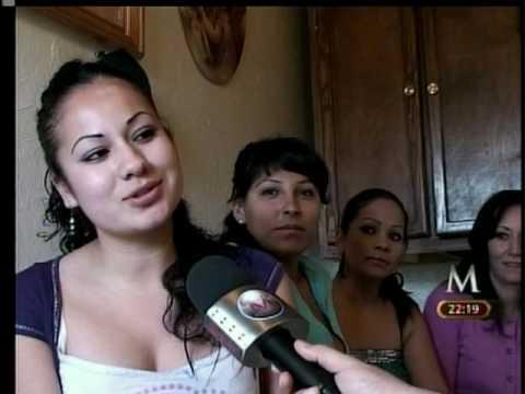 Concurso de belleza en carcel de Juarez.mpg