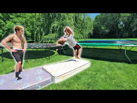 TRYING TO TEACH A FAN A BACKFLIP 10 YEARS OLD