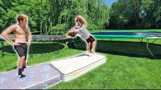 TRYING TO TEACH A FAN A BACKFLIP! (10 YEARS OLD)