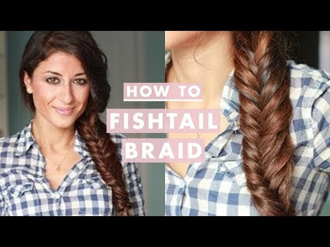 How to Everyday Fishtail Braid