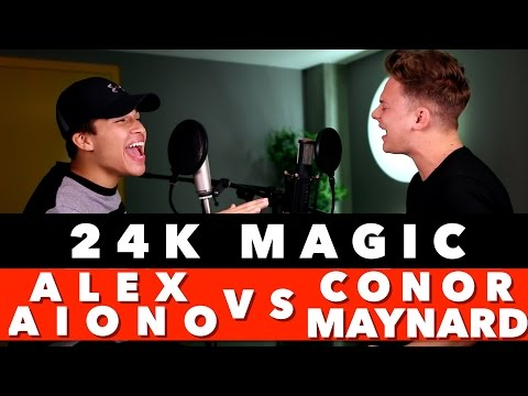 Download Bruno Mars - 24K Magic (SING OFF vs. Alex Aiono) On Musiku.PW