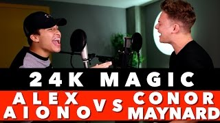 Bruno Mars  24k Magic Sing Off Vs Alex Aiono