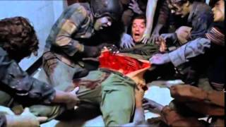 Cult Horror Movie Scene N°58 - Day of the Dead (1985) -  Captain Rhodes Death