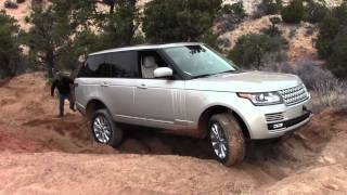 2013 Land Rover Range Rover Launch, Off Road