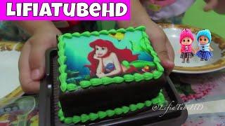 Kids Holland Bakery - Lifia Niala Makan Kue Disney Mermaid Cake, Mickey Mouse Cake, Masha