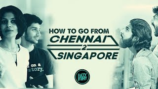 PRANK : How to Go from Chennai to Singapore | Fully Filmy