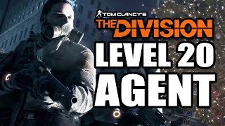 LEVEL 20 AGENT! Tom Clancy's The Division Co-op Gameplay Walkthrough Part 1! BETA HYPE!