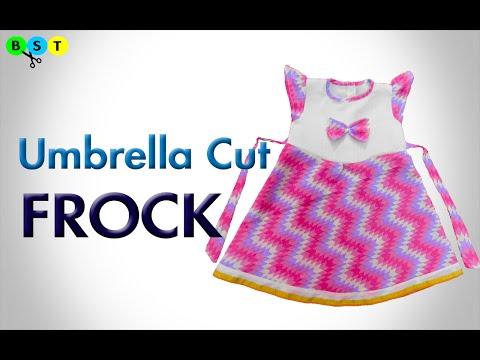 Umbrella Cut Frock- Cutting & Stitching