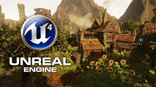 Unreal Engine 4 Map Medieval Village FrostyFroggs 2015