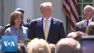Trump Gets Happy Birthday Serenade at White House Event