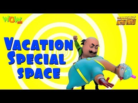 Motu Patlu Vacation Special - Space - Compilation - As seen on Nickelodeon