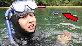 SCUBA DIVING FOR LOST IPHONE!!
