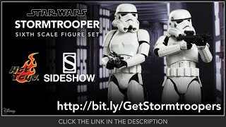 Star Wars Hot Toys Stormtroopers Movie Masterpiece 1/6 Scale Collectible Figure Set Review