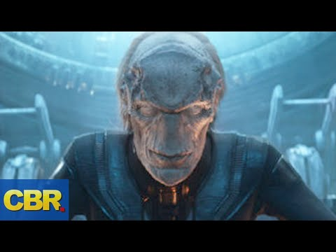 What Nobody Realized About Red Skull Proxima Midnight and Ebony Maw In Avengers Infinity War