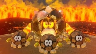 Super Mario 3D World 100% Walkthrough Part 9 - World 4 (4-4, 4-M, 4-5, 4-C) Green Stars & Stamps