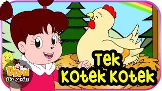 Tek Kotek Kotek (Anak Ayam) | Diva bernyanyi | dan cerita diva lainnya | Diva The Series Official
