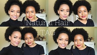 Natural Hair TAG w. Yolz | MIHLALI N