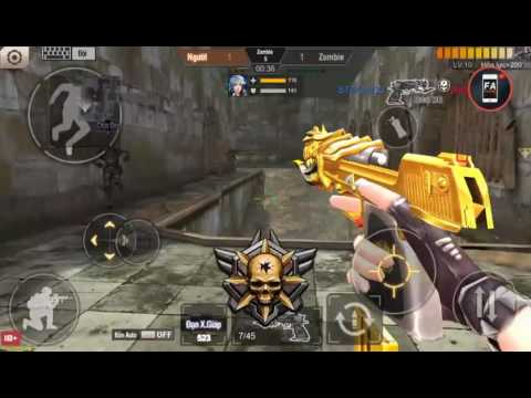 Tập Kích Gatting Gold Dual DE Gold Mình Tao Cân Hết Phơ Phơ F.A Channel VN
