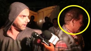 Sohail Khan Misbehaves With Reporter For Harassing Salman's Father Salim Khan
