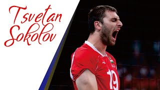 TSVETAN SOKOLOV vs. Sarmaye Bank Tehran | King of Opposite