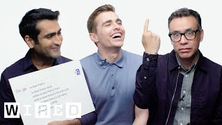 Dave Franco, Kumail Nanjiani and Fred Armisen Answer the Web