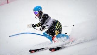 Rocky Mountain College women, Lafarge sweep regional giant slalom titles