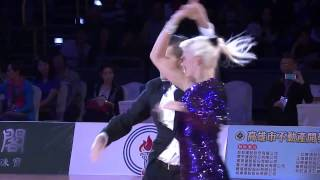 Grzegorz Cherubinski & Agnieszka Cherubinska Final Slow World DanceSport Games 2013 Kaohsiung I Day