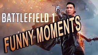 Battlefield 1 Funny Moments | NGƯỜI LÍNH CẢM TỬ NHẤT THẾ GIỚI
