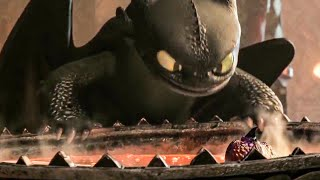 Baby Dragon vs Toothless - HOW TO TRAIN YOUR DRAGON 3 TV Spot Trailer (2019)