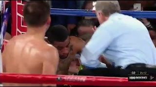 GENNADY GOLOVKIN VS. DOMINIC WADE FULL FIGHT POST-FIGHT; 2ND ROUND ANNIHILATION