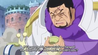 Akainu Talking to Gorosei And Fujitora ! One Piece Episode 736 English Subbed